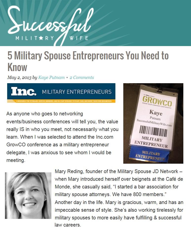 growco military entrepreneur