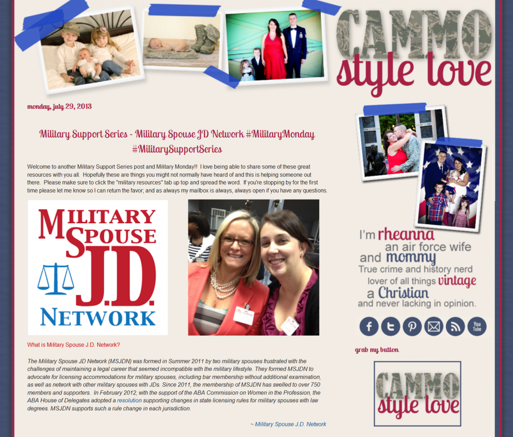 Military Spouse Lawyer Attorney