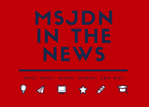 MSJDNIn the news