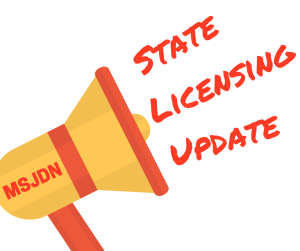 State Licensing Update